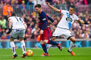 Buang Keunggulan Dua Gol, Barca Imbang 2-2 dengan Deportivo