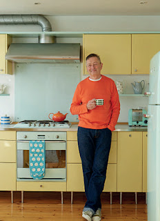 Geoff Kirk in his Danish kitchen in Dublin. Photo by Mark Scott