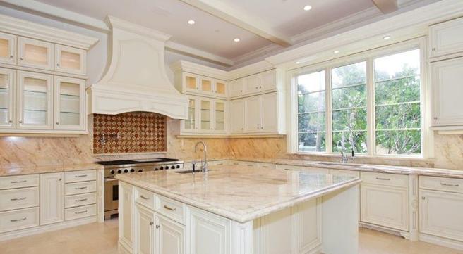 Encimeras de cocina granito o cuarzo cocinas con estilo - Cocinas con encimera de granito ...