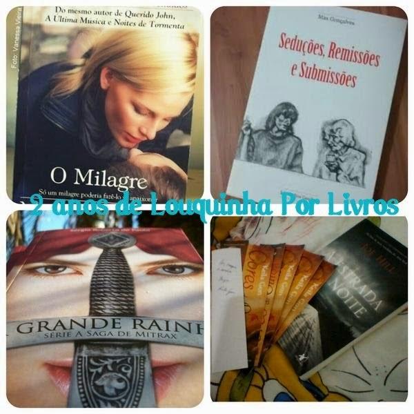 {Promoção] Aniversário do blog Louquinha por Livros