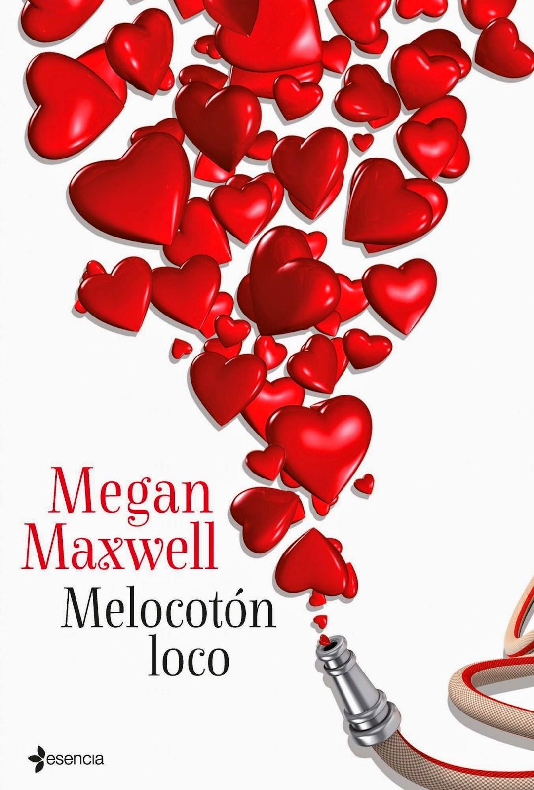 """Portada del libro """"Melocotón loco"""", de Megan Maxwell"""