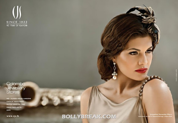 Jacqueline Fernandez Jewellery Photoshot Pics - Latest for CJS