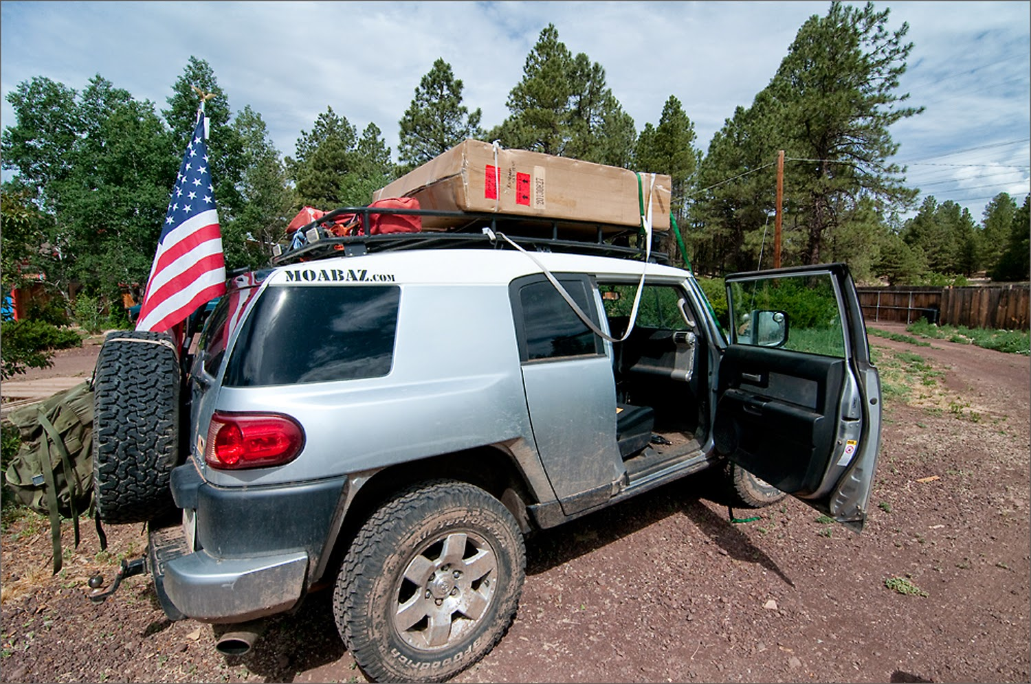 Tent in a box. I picked mine up from a dealer but you may get yours shipped directly to your house. : fj cruiser roof tent - memphite.com