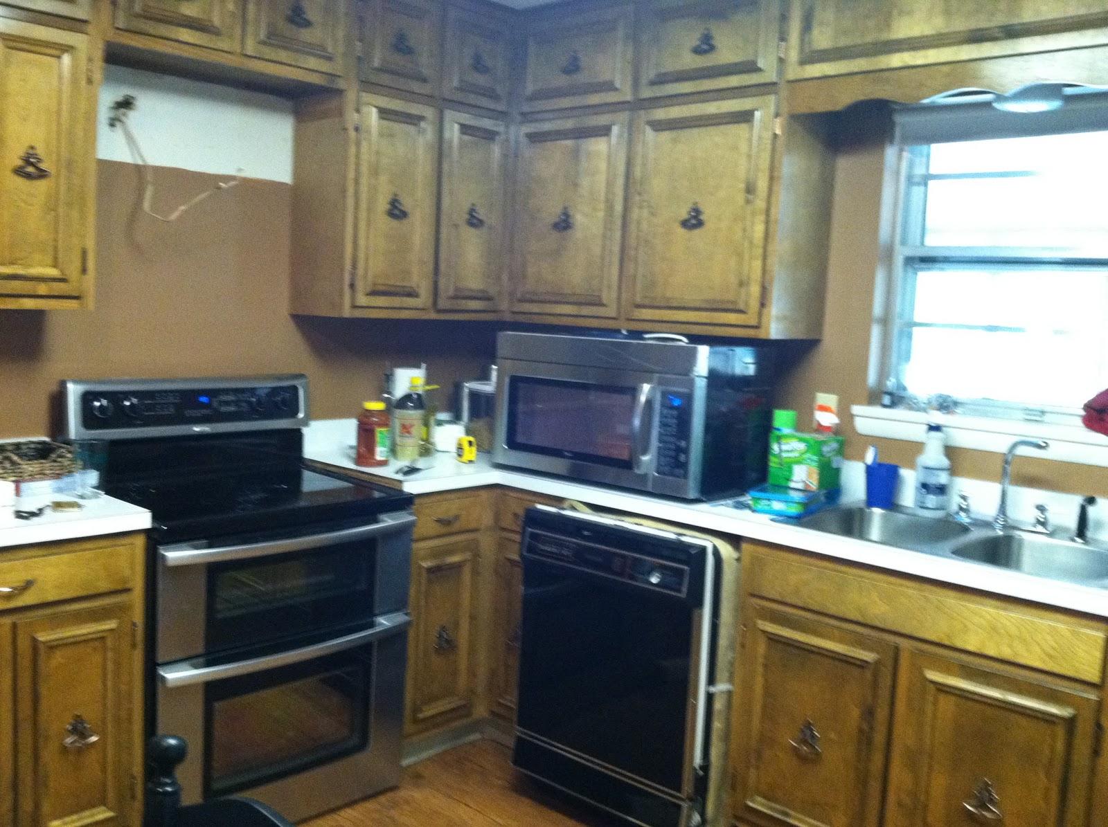 Kitchen Makeover {rainonatinroof.com} #kitchen #makeover #re Model #