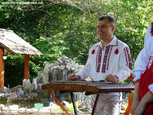 The Veseli Halychany Musicians at the wedding in Ukraine