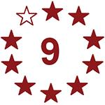 9 von 10 Sterne