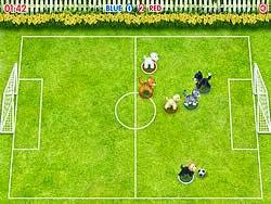 Thú đá bóng, game the thao