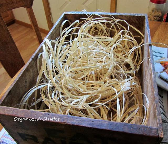 Wood Raisin Crate