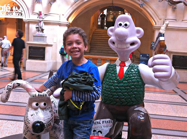Newshound Gromit at Bristol City Museum