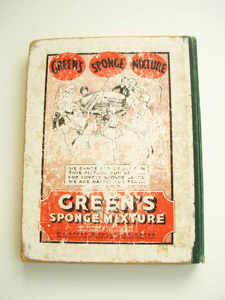 green's sponge mixture, advert, 1924, tiger tim, annual, back cover