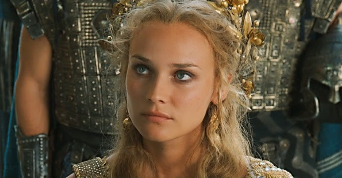 reaction about the movie helen of troy Directed by wolfgang peterson, the movie troy is based on an adaptation of homer's great epic the iliad this movie re-enacts the legend of the trojan war in 1193 bc paris (orlando bloom), the young prince of troy, eloped with helen (diane kruger), the queen of sparta, after a mission to sign a peace treaty with menelaus (brendan.
