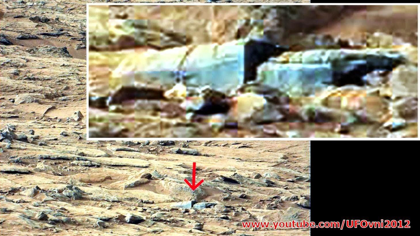 Incroyable : Mais la vie sur la planète Mars preuves (? Unité de stockage)