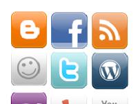 Sosial media, tren mencari pengunjung untuk blog baru