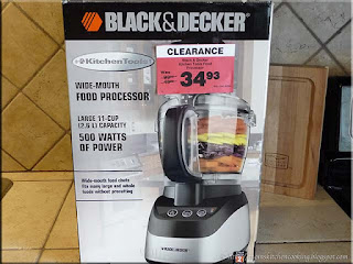 Black & Decker food processor bought on sale