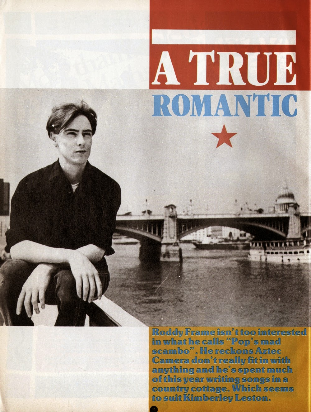 sound of young scotland: Aztec Camera talk about doing a bit of ...
