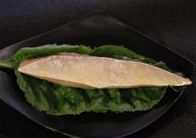 Quique Dacosta plato presentado en Gastronomika 2012
