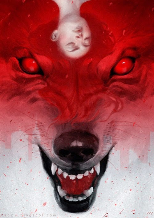Bao Pham deviantart ilustrações sombrias fantasia terror