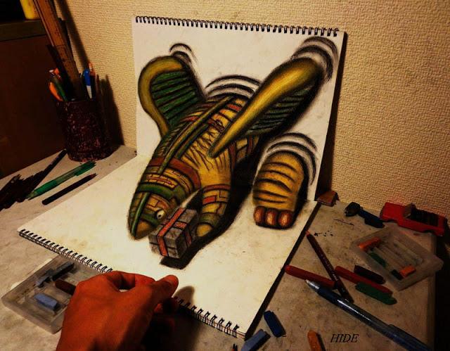 لوحات ثلاثية الأبعاد 3D+Pencil+Drawings+01