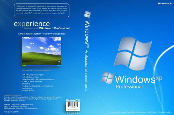 Windows XP Professional SP3 + Tradução PTBR