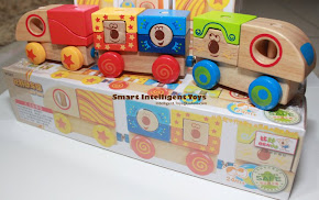 Wooden Cube Train (2+)