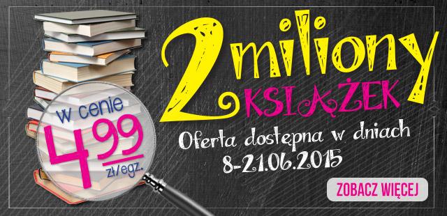 2 miliony książek w Biedronce po 4,99 zł!