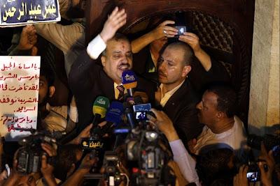 rakyat Mesir tersebut turut dihadiri oleh Dr Morsy , Presiden Mesir