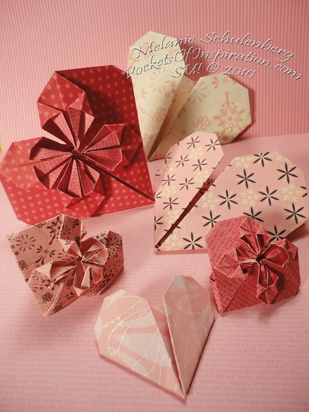 Pockets of Inspiration: The Folded Heart