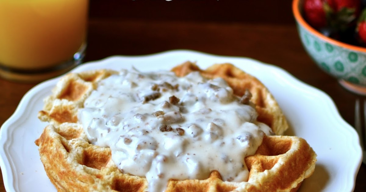 Yammie S Noshery Waffle Biscuits And Gravy
