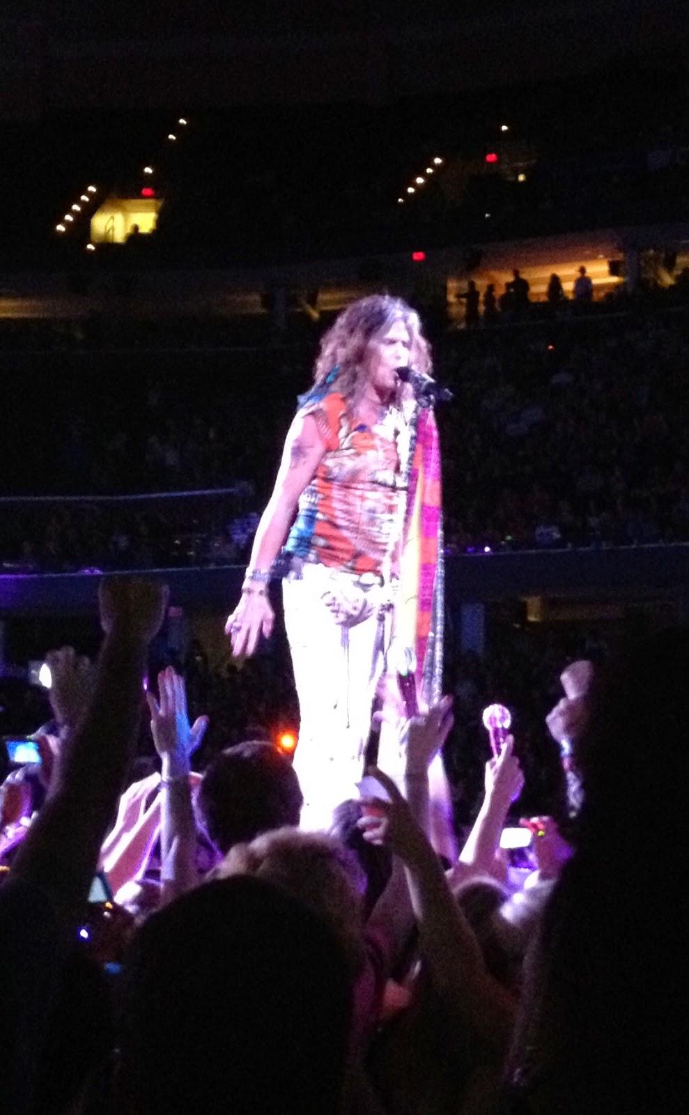 Steven Tyler Aerosmith Cleveland