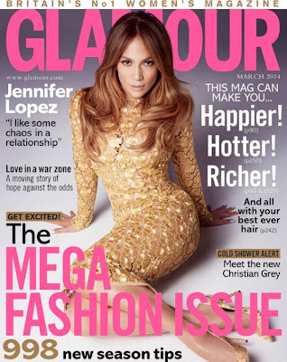 Jennifer Lopez HQ Pictures Glamour UK Magazine Photoshoot March 2014 By Kai Z Feng