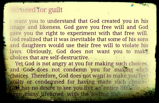 quote by Jesus Christ about guilt and sin
