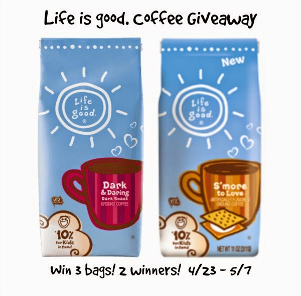 Enter the Life is Good Giveaway. Ends 5/7.