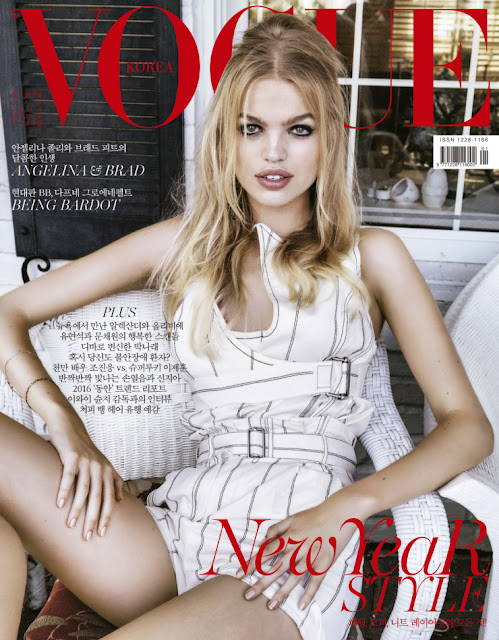 Fashion Model, @ Daphne Groeneveld by Junseob Yoon for Vogue Korea, January 2016