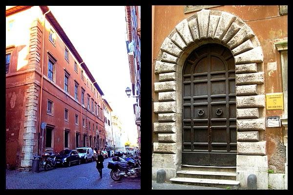 Palazzo Medici Clarelli na via Giulia