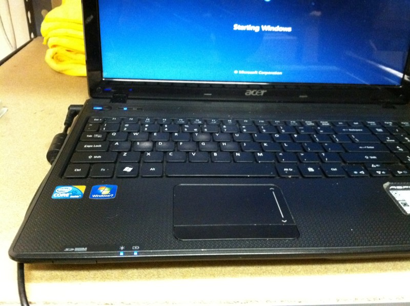Acer notebook recovery