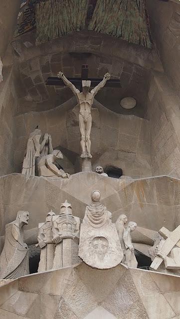 Sagrada Familia Fachada de la Pasión