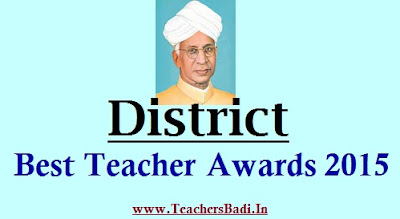 District Best Teachers Awards.Application Form,Certificate of Antecedents and Character
