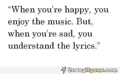 quote about song music lyrics