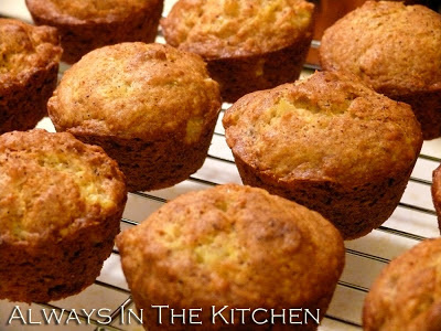 Always in the Kitchen: Banana Pineapple Muffins