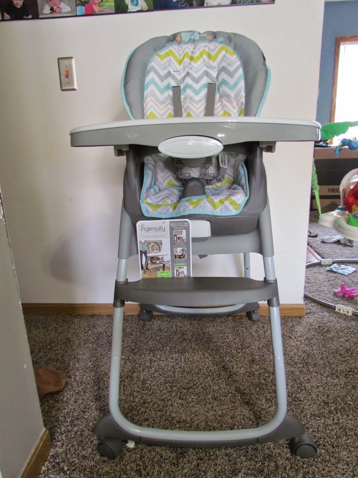 Mommy s Favorite Things Ingenuity Trio 3 in 1 High Chair Review