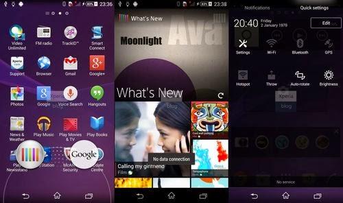 Sony, Sony D6503, Sony Xperia Sirius, Android 4.4.2, Android 4.4.2 KitKat, Android KitKat