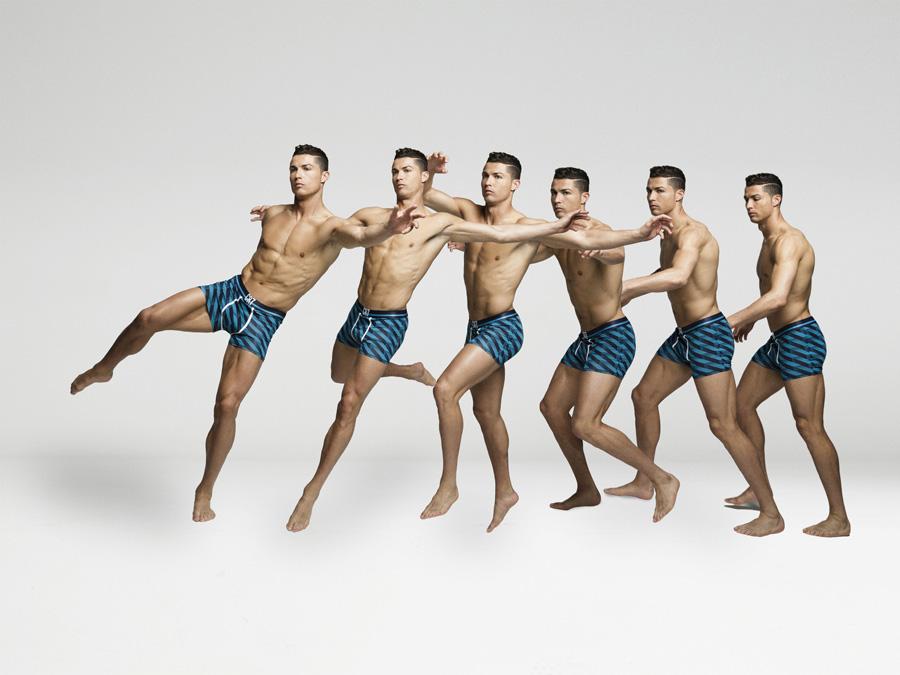 Cristiano Ronaldo posa para nova campanha da CR7 Underwear. Foto: Richard Ramos