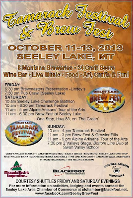 Seeley Lake Brewfest 2013 Schedule
