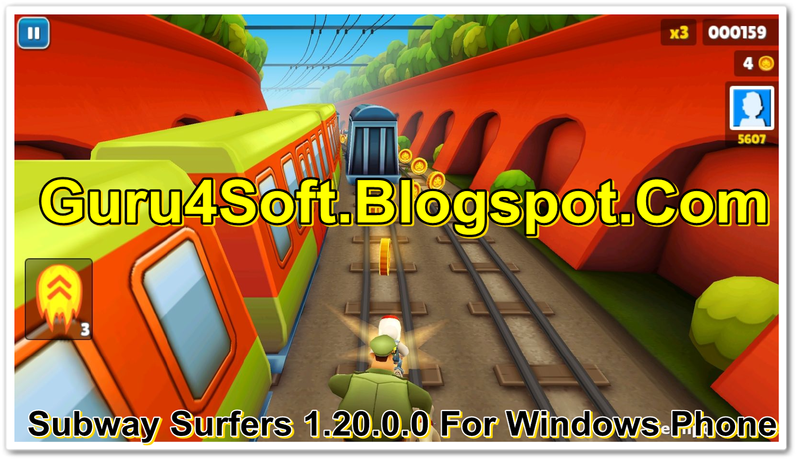 Download Subway Surfers 1.20.0.0 For Windows Phone