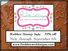 Fresh Brewed Designs Rubber Stamp Sale