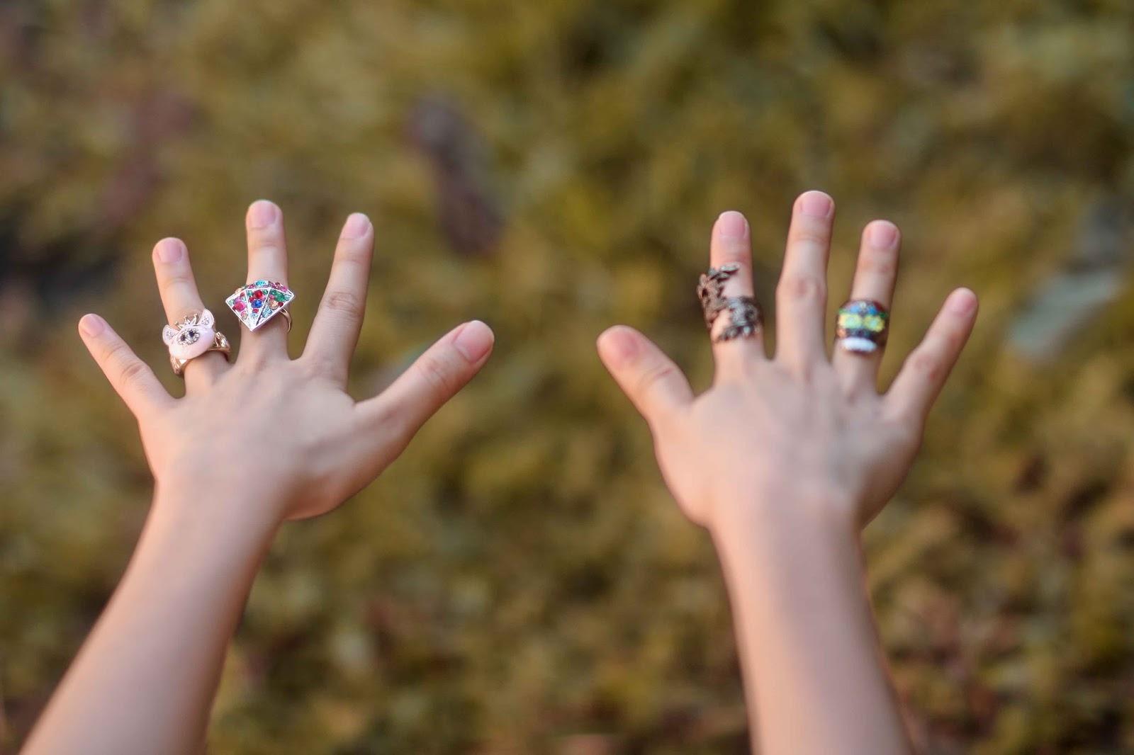 kawaii rings