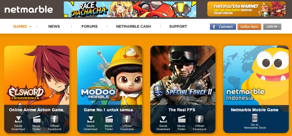 Game Special Force 2, Modoo Marble dan Netmarble Warnet Akan Ditutup Bulan Desember Mendatang