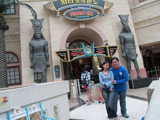 Seoul Lotte World Pharaohs Fury