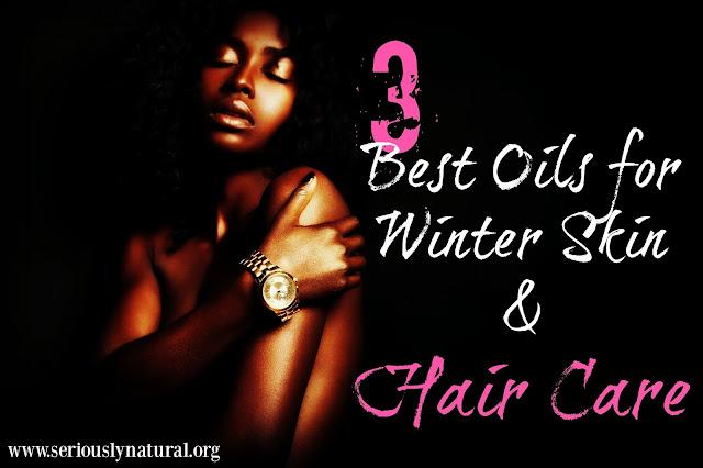 3 Best Oils for Winter Skin & Hair Care
