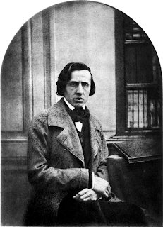 Frederic Chopin by Bisson in 1849